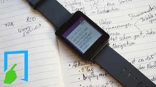 LG G Watch Test deutsch