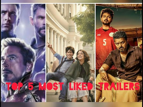 Top 5 Most Liked Trailers On YouTube   Movies Fact & Information   Movies Trailers 2019