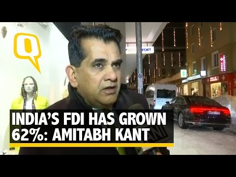 Amitabh Kant on Uniques Story of India's Growth at Davos   The Quint