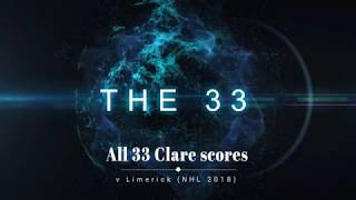 The 33 - All Clare scores v Limerick (Allianz National Hurling League 2018)