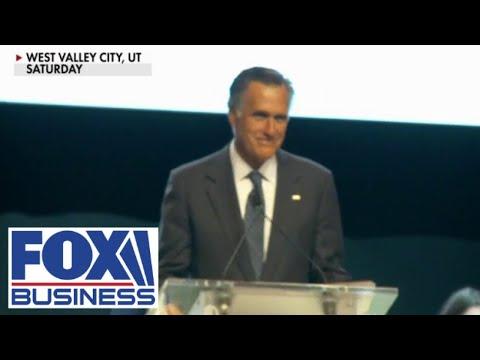 Mitt Romney booed at Utah GOP convention