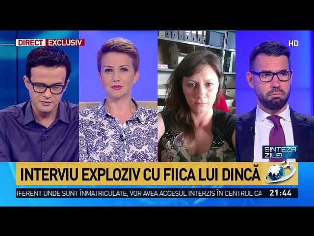 Sinteza zilei. Interviu exploziv cu fiica lui Gheorghe Dincă