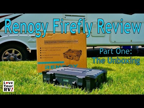 Renogy Solar Firefly Review Part One – The Unboxing