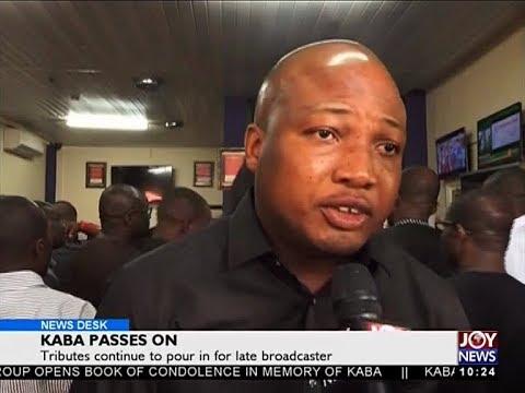 KABA Passes On - News Desk on Joy News (20-11-17)