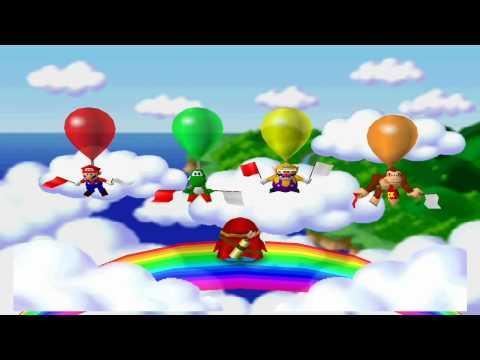 Mario Party 2 Mini Games - Shy Guy Says