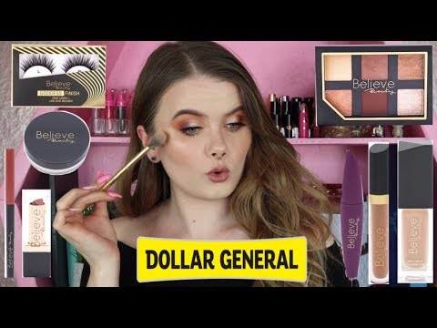 NEW DOLLAR GENERAL MAKEUP | BELIEVE BEAUTY FIRST IMPRESSIONS | Vanessa Lopez