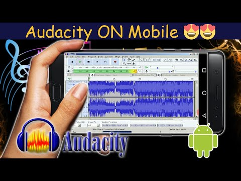Audacity On Android Finally!!!