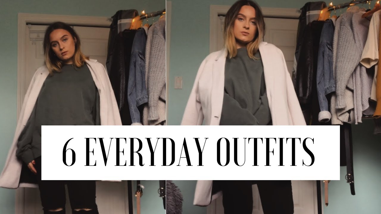 [VIDEO] - WINTER OUTFITS : everyday casual outfits 2