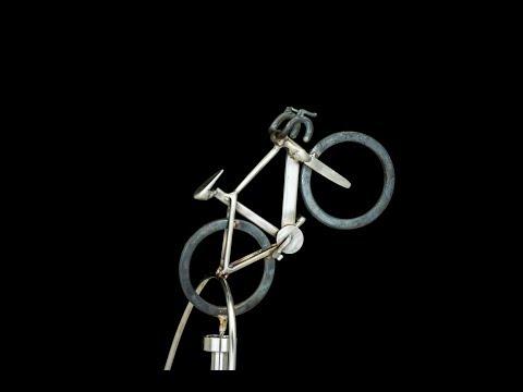 Trek Bike (Center balanced) - Kinetic Balancing Desk Toy Physics Sculpture