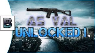 BATTLEFIELD 4 - AS VAL Unlocked!! How to unlock it on PC!