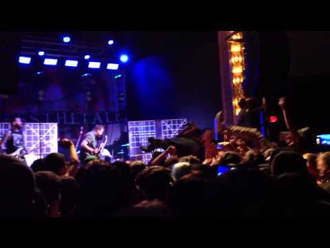 Silverstein- My Dagger Versus Your Sword (Hollow Bodies Tour 2014 Live El Paso)