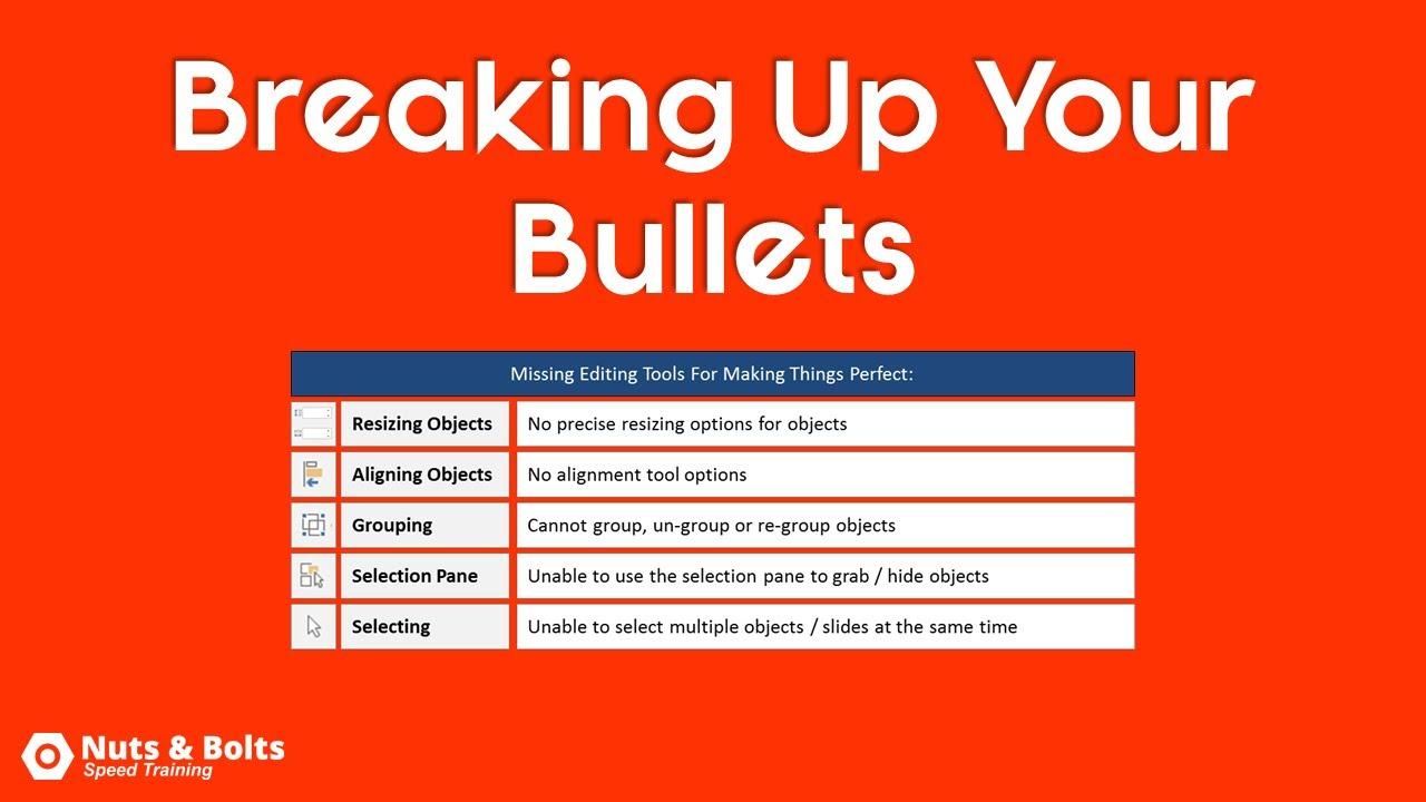 powerpoint presentation bullet points