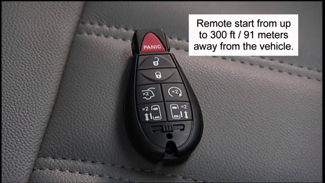 2015 Ram Cargo Van Key Fob Youtube