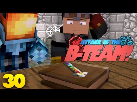 Minecraft: QUEST FOR THE ANCIENT STAFF! Attack Of The B-Team Modded Survival (30)