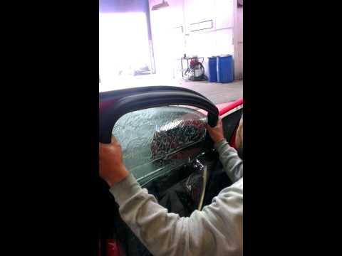 Opel Astra Half Peel Door Tint