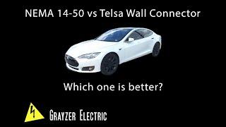 Video-Search for tesla wall connector vs nema 14-50