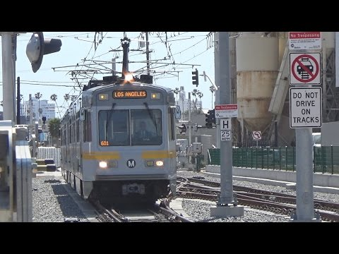 Expo Line Action In Santa Monica and West LA With Bonus Scene