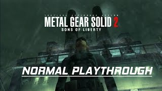 Metal Gear Solid 2 - Normal Difficulty Walkthrough - No Commentary