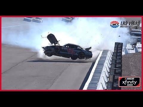 Chase Briscoe wrecks late, gets airborne at Las Vegas