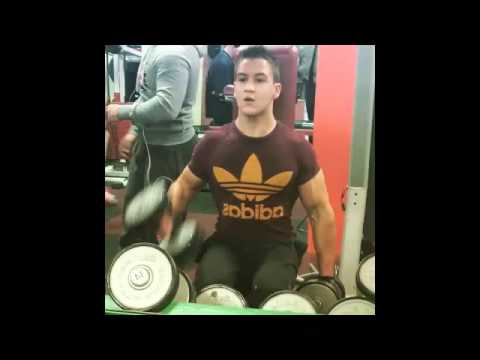 Transformation musculaire naturel Mario 16 ans !
