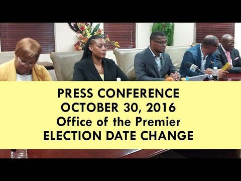 PNP Press Conference New Election Date NOW December 15