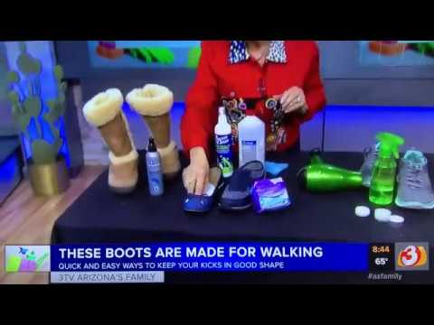 SHOE and BOOT Cleaning Tips - Queen Of Clean Cleaning Tip Video
