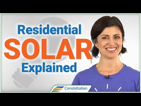 Residential Solar Power 101: How home solar power systems work