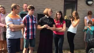 Yatton Methodist Church Ice Bucket Challenge 7th September 2014