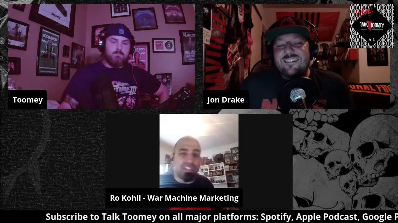Talk Toomey Live W  Jon Drake and Ro Kohli