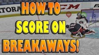 NHL 19 3 Best Ways on How To Score on BREAKAWAYS