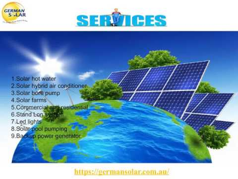Commercial solar panels Sydney - germansolar.com.au