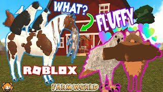 ROBLOX FARM WORLD FLUFFY GAMEPASS PACK! Pomeranian has a Baby & Teddy BEARS! Funny Roleplay