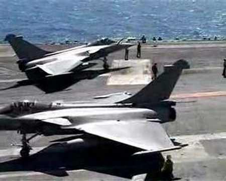 Rafale Squadron on USS Truman