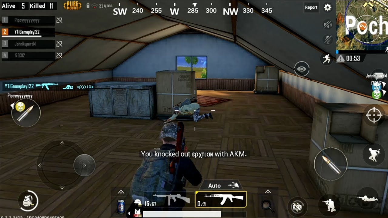 Official Pubg Mobile Gameplay: PUBG MOBILE Android Gameplay 12 Kill