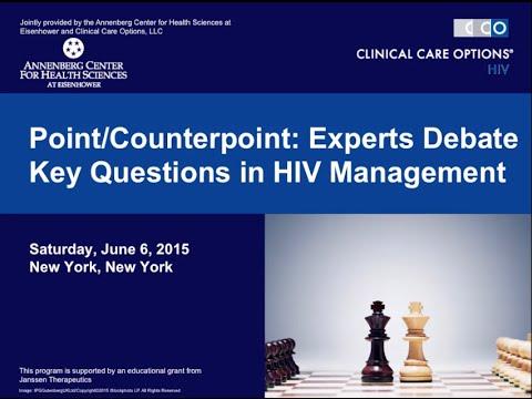 Experts Debate Key Questions in HIV Management. New York, 06.07.2015 [ВИЧ-инфекция]