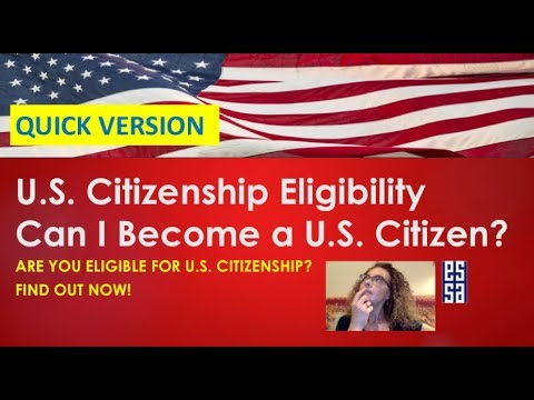 Are You Ready To Apply For US Citizenship?
