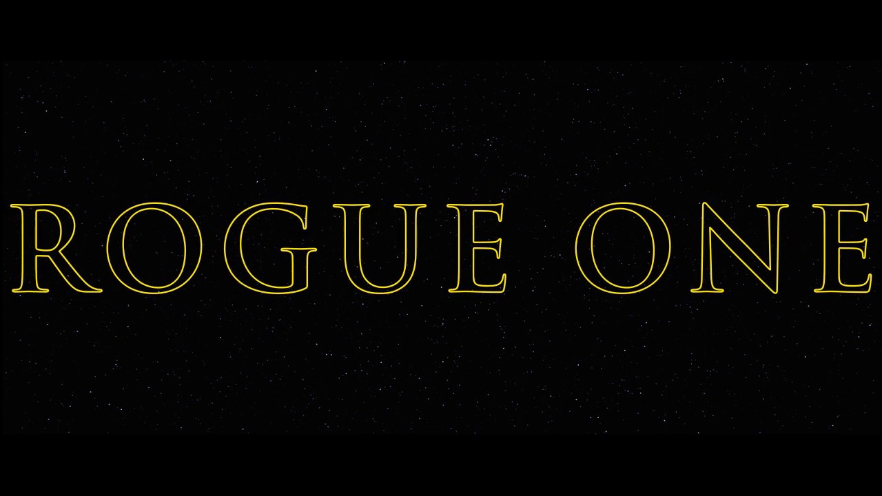 Image result for rogue one title