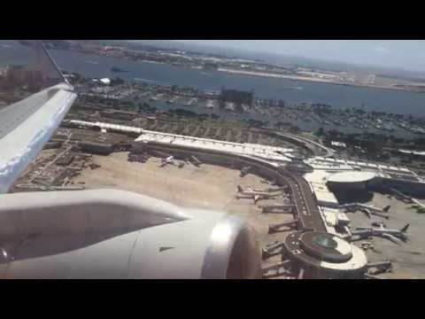 American Airlines 757-200 Takeoff From San Diego!!