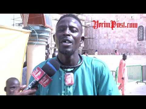Vidéo- Touba: Yawou Dial prie pour Karim Wade et Abdoulaye Wade