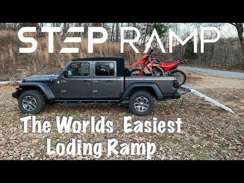STEP RAMP ~ The Best Motorcycle Loading Ramp!
