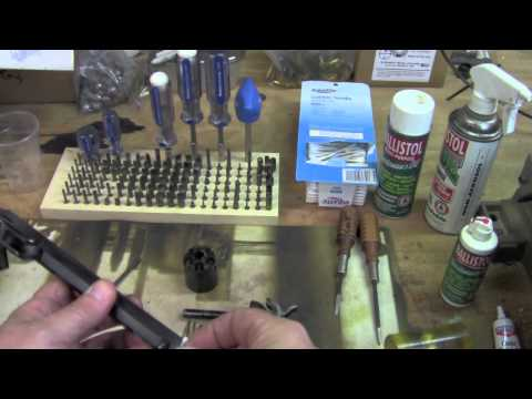 Disassembly and cleaning Colt Cap and Ball Revolvers Part 1.mov