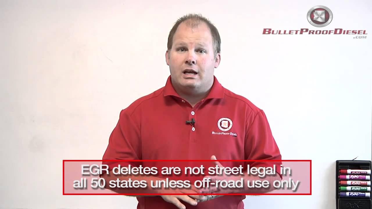 EGR cooler vs EGR delete