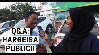 ASKING THE PUBLIC QUESTIONS HARGEISA EDITION!! #SOMALI