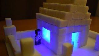 САХАРНЫЙ ДОМ ДЛЯ НУБА! Как сделать сахарный домик!