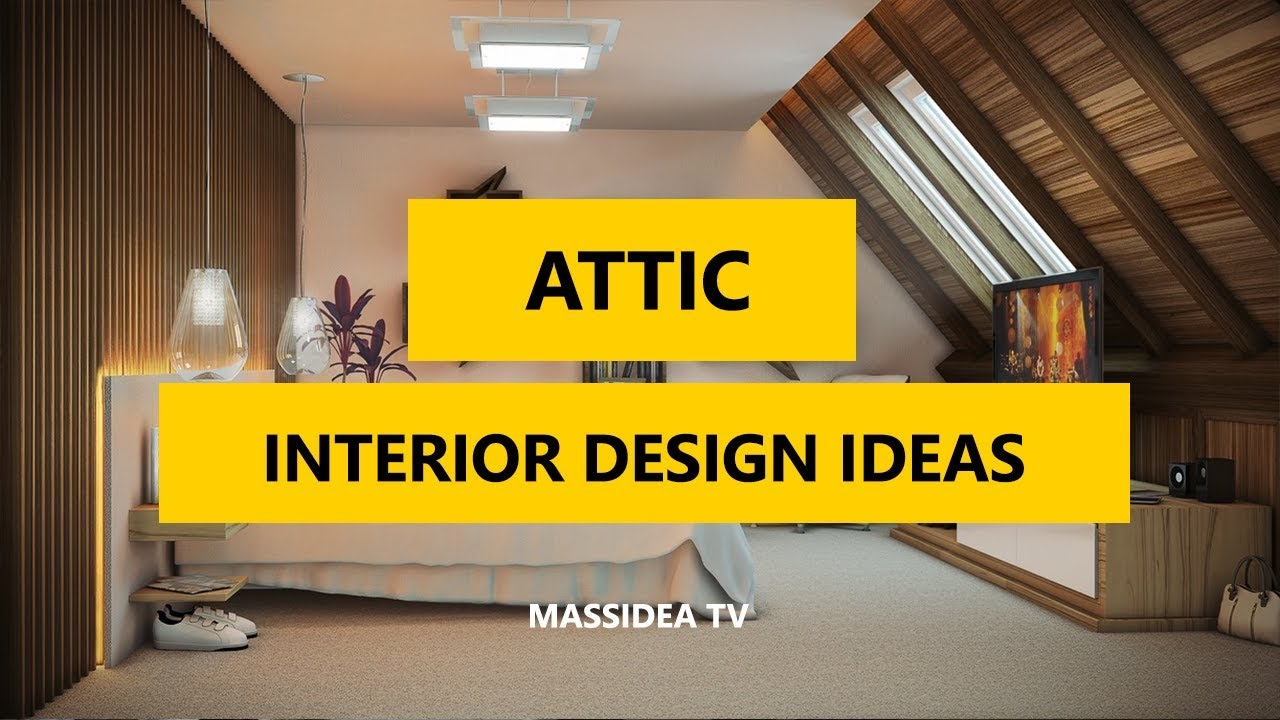 65+ Awesome Attic Interior Design Ideas You Will Love 2017