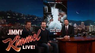 chris evans robert downey jr reveal the poster trailer for captain america civil war