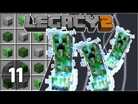 Charged Creeper Mob Heads Farm - Legacy SMP 2: #11 | Minecraft 1.16 Survival Multiplayer