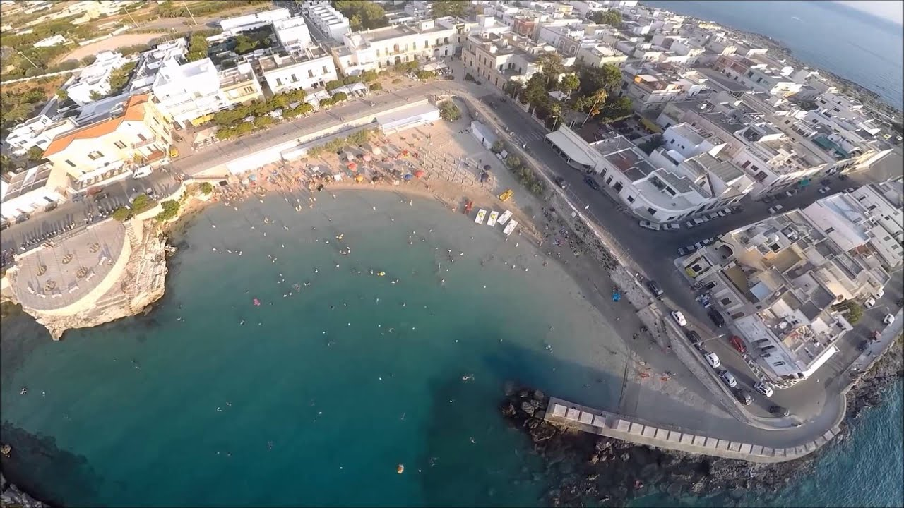 S maria al bagno spiaggia del salento by drone youtube - Santa maria a bagno ...