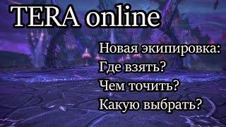 Tera новая экипировка обзор / Что стало с экипировкой в Tera online?