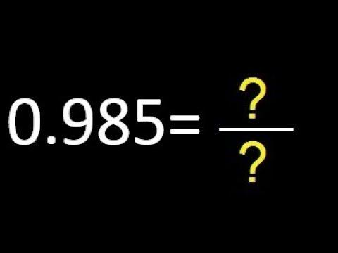 Reducir fracciones a común denominador por el método del mínimo común múltiplo (m.c.m.) from YouTube · Duration:  4 minutes 13 seconds